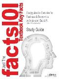 Studyguide for Statistics for Business & Economics by Anderson, David R., ISBN 9781133274537