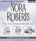 Nora Roberts Three Sisters Island CD Collection Dance Upon the Air Heaven & Earth Face the Fire