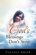 God's Blessings Don't Stop