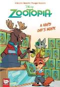 Disney Zootopia Hard Days Work Younger Readers Graphic Novel