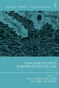 New Directions in European Private Law