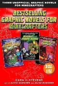 Bestselling Graphic Novels for Minecrafters (Box Set): Includes Quest for the Golden Apple (Book 1), Revenge of the Zombie Monks (Book 2), and the End