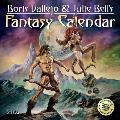 CAL21 Boris Vallejo & Julie Bells Fantasy Wall Calendar