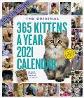 Cal21 365 Kittens A Year Picture A Day Wall Calendar 2021