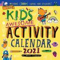 Cal21 Kids Awesome Activity Wall Calendar 2021