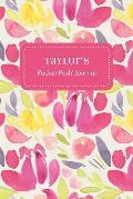 Taylor's Pocket Posh Journal, Tulip