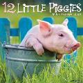12 Little Piggies 2021 Wall Calendar