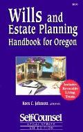 Wills & Estate Planning Handbook For Ore 5th Edition