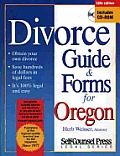 Divorce Guide & Forms For Oregon 10th Edition