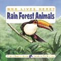 Who Lives Here Rain Forest Animals
