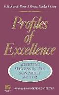 Profiles of Excellence: Achieving Success in the Nonprofit Sector
