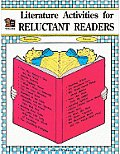 Literature Activities For Reluctant Read