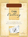 God Calling Journal Green Leather