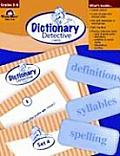 Dictionary Detective Cards Grades 3 6