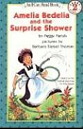 Amelia Bedelia & the Surprise Shower Book & Tape With Book
