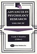 Advances in Psychology Researchv. 4