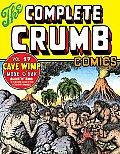 Complete Crumb Comics Volume 17 Cave Wimp