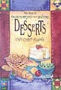 Best of Favorite Recipes from Quilters Dessert With Four Color Artwork