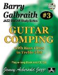 Barry Galbraith Jazz Guitar Study 3 -- Guitar Comping: With Bass Lines in Treble Clef, Book & Online Audio