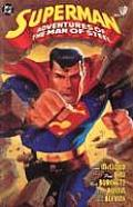 DC Superman Adventures Of The Man Of Steel