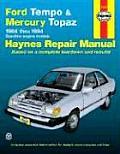 Ford Tempo & Mercury Topaz Repair Manual 1984 1994
