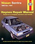 Nissan Sentra Repair Manual 1982 1994