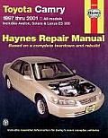 Toyota Camry Repair Manual 1997 2001 Includes Avalon Solara & Lexus ES 300