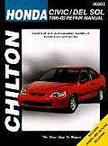 Honda Civic & del Sol 1996 00 Repair Manual