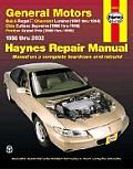 General Motors Buick Regal 88 02 Chevrolet Lumina 90 94 Olds Cutlass Supreme 88 96 Pontiac Grand Prix 88 99