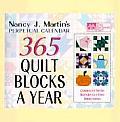 Nancy J Martins 365 Quilt Blocks A Year