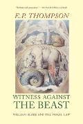 Witness Against The Beast William Blake