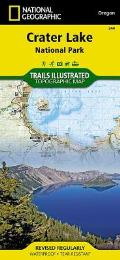 National Geographic Trails Illustrated Map||||Crater Lake National Park