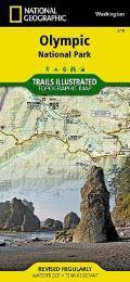 Olympic National Park Washington Map