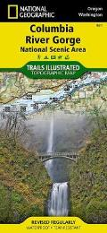 Trails Illustrated Columbia River Gorge Map
