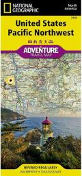 National Geographic Adventure Map||||United States, Pacific Northwest