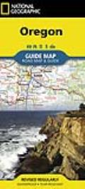 Oregon: Guide Map: Road Map & Guide