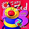 Zany Zed Busy Bugz Glitter Book