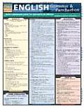 English Grammar & Punctuation Laminate Reference Chart