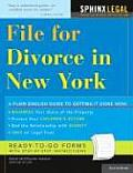 File for Divorce in New York