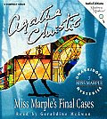 Miss Marples Final Cases Unabridged Cd