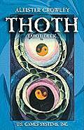 Pocket Thoth Crowley Tarot Card Deck