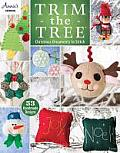 Trim the Tree: Christmas Ornaments to Stitch: 55 Handmade Designs [With Pattern(s)]