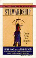 Stewardship Choosing Service Over Self