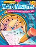 Second Grade Math Minutes One Hundred Minutes to Better Basic Skills