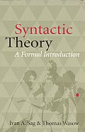 Syntactic Theory A Formal Introduction