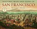Historic Maps & Views of San Francisco 24 Frameable Maps & Views