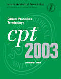 Cpt 2003 Standard Edition Current Procedural