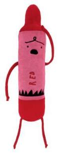 The Day the Crayons Quit Red 12 Plush