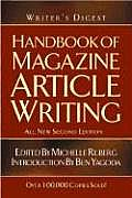 Writers Digest Handbook of Magazine Article Writing All New 2nd Edition