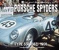 Porsche Spyders: Type 550 1953-1956